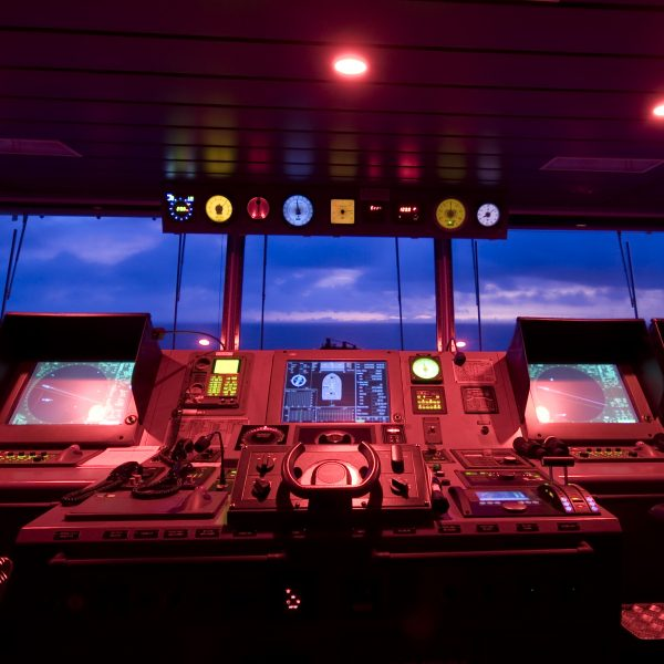 This is the center of command of a ship