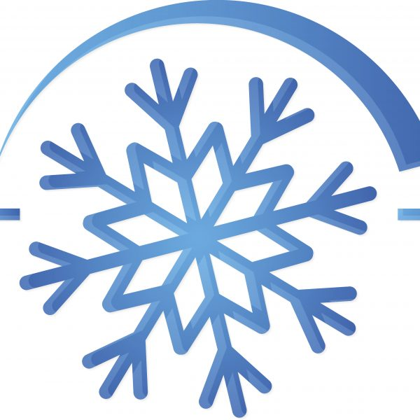 Air conditioner symbol snowflake for vector